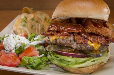 BBQ Bacon Cheese Burger
