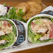 the marketplace CHICKEN BREAST WRAP