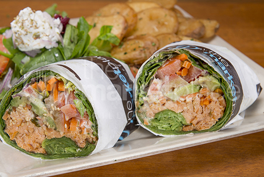 the marketplace SALMON WRAP