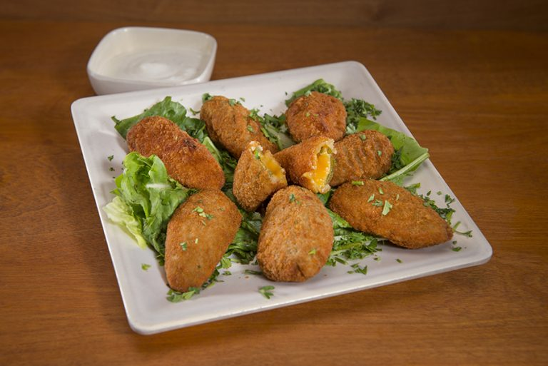 STARTERS - JALAPENO POPPERS