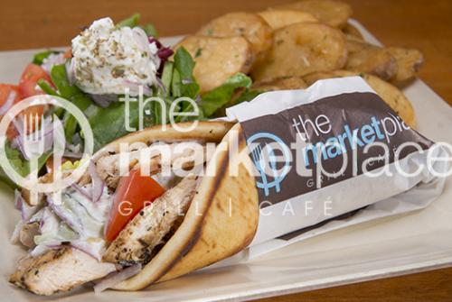 CHICKEN BREAST PITA