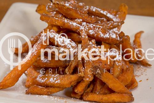 STARTERS -  SWEET POTATO FRIES